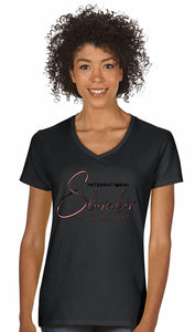 Black International Slumber Party T-Shirt