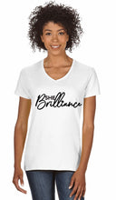 Load image into Gallery viewer, White SHE Brilliance T-Shirt