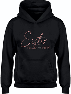 Black Sister Diamonds Hoodie
