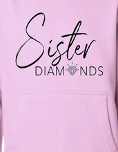 Load image into Gallery viewer, Pink Sister Diamonds Hoodie