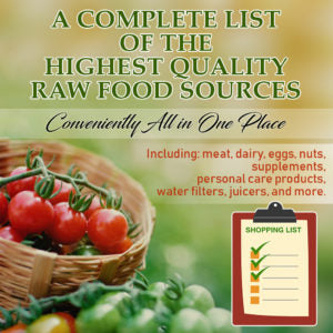 Food Sourcing List