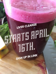 Spring Liver Cleanse