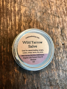 Wild  Yarrow Salve