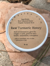 Load image into Gallery viewer, Raw Turmeric Honey