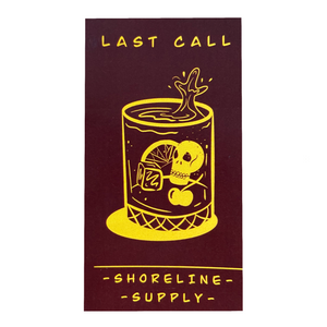 Last Call Sticker