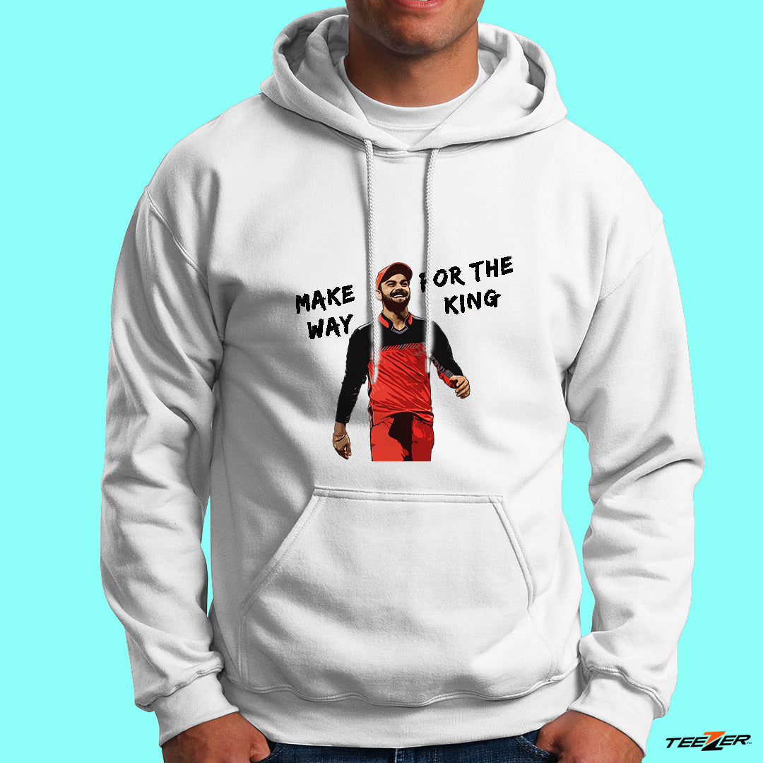 Make way for the King Kohli-Hoodies