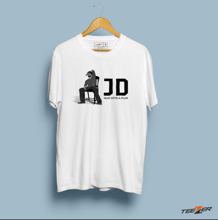 JD Man with a plan - Tshirt