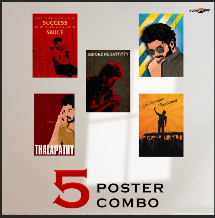 5-poster Thalapathy combo