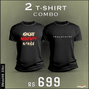 Pack of 2 tees | Thalapathy | Combo