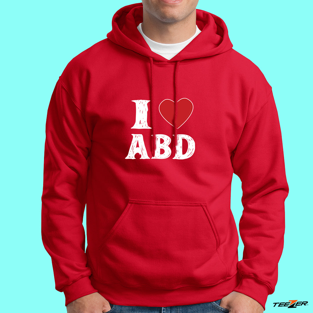 I Love ABD-Hoodies