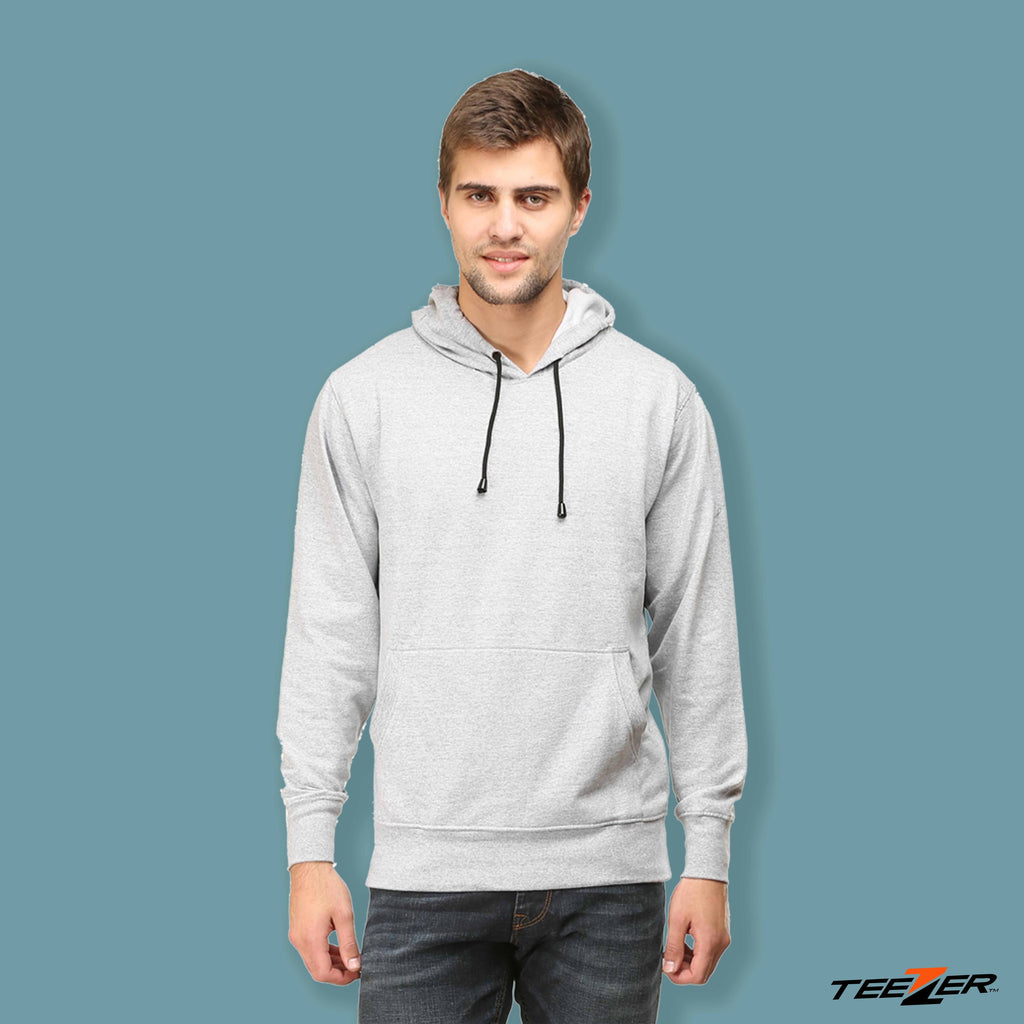 Just plain:Hoodies-grey