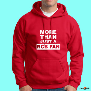 More than just a RCB fan-Hoodies