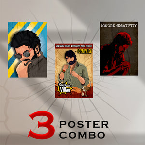 3-Poster Master Combo