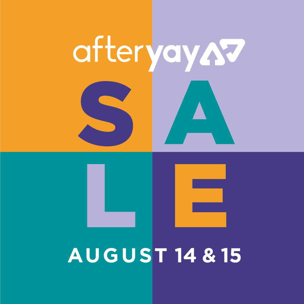 AfterYAY Sale is HERE!