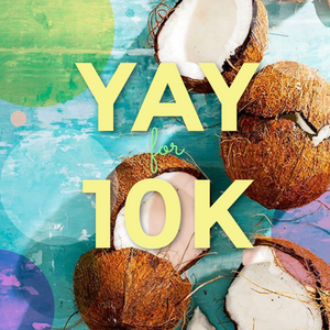 YAY FOR 10K! We're doing our first Instagram Giveaway.