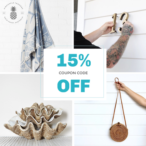 15% OFF Coupon!