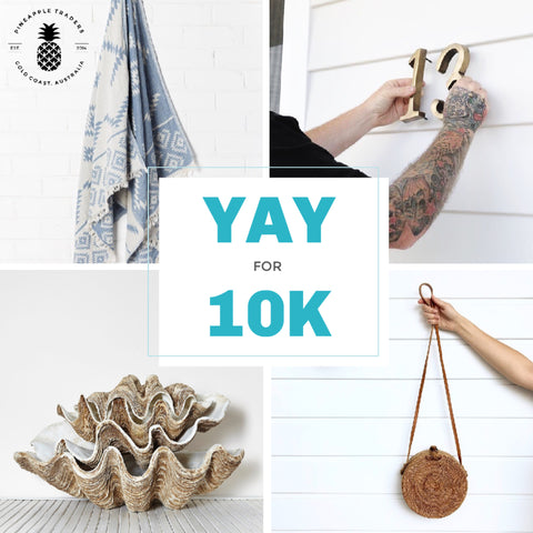 YAY FOR 10K Instagram Giveaway
