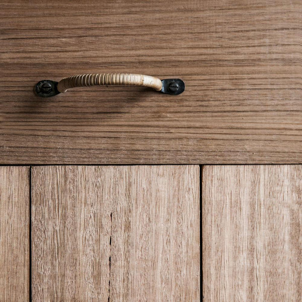Lake Rattan Drawer Pull