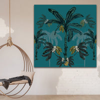 'Banana Bungalow' Print on Canvas - By Libby Watkins