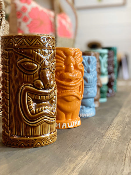 Hawaiian Tiki Mugs - Pineapple Traders