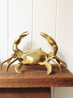Brass Crab with Claws