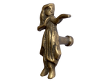 Hula Girl Brass Knobs