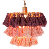 Fela Wall Chandelier - Blush Ombre
