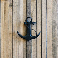 Hello Sailor Anchor Door Knocker