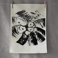 Signature Stone Linen Tea Towel - By Libby Watkins