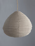 Pear Lantern in Taupe Linen - The Jungle Trader