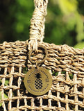 Brass Pineapple Traders Keyring Accessory