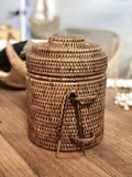 Rattan Ice Bucket Drink Cooler