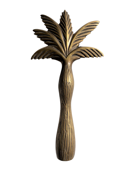 Brass Palm Tree Door Handle  |  by Pineapple Traders