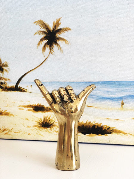 Mini Shaka Brass Hand