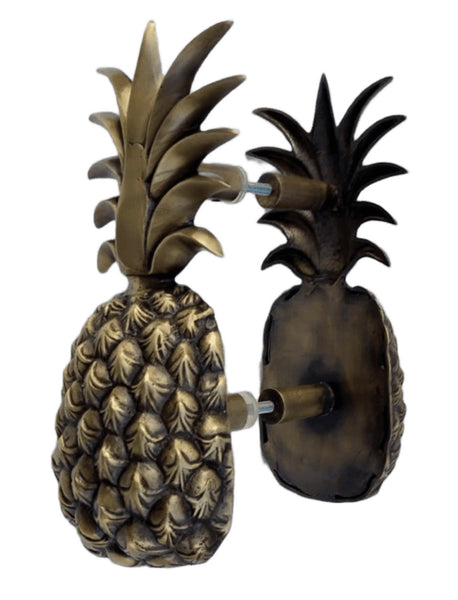 Brass Pineapple Door Handle  |  by Pineapple Traders