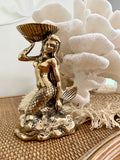 Brass Mermaid Dish