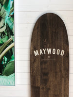 Maywood Timber Surfboards