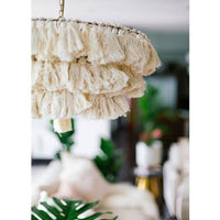Justina Blakeney Fela Tassel Chandelier DISCONTINUED