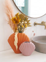 Scallop Shell Vase by Pineapple Traders