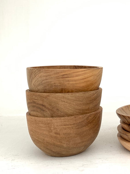 Kayu Teakwood Bowl  |  by Pineapple Traders