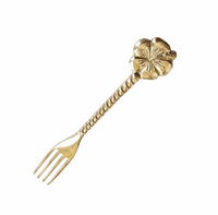 Brass Cake Fork  |  by Pineapple Traders