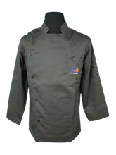 Load image into Gallery viewer, CHEF JACKET BLACK/COLORED