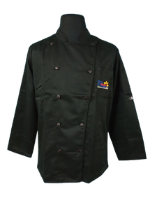 CHEF JACKET BLACK/COLORED