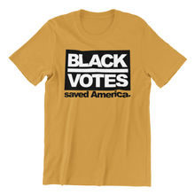 Load image into Gallery viewer, Black Votes Save America Men's T-Shirt