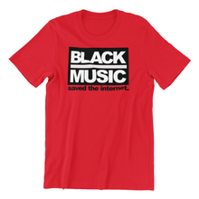 Load image into Gallery viewer, Black Music Saved The Internet Men's T-shirt