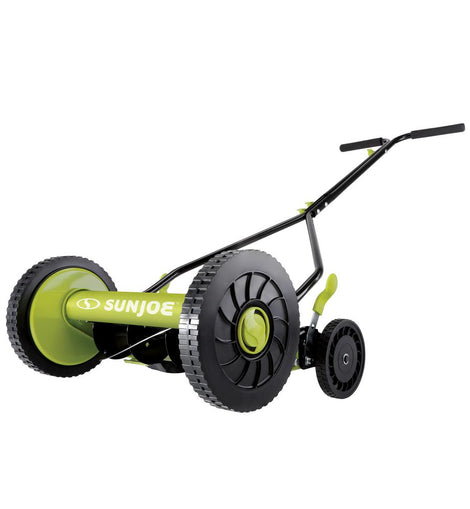 14 in. Classic Quad Wheel 9-Position Manual Walk-Behind Reel Mower