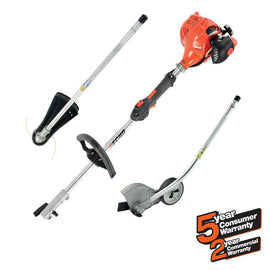 21.2 cc Gas 2-Stroke Cycle PAS Straight Shaft Trimmer and Edger Kit