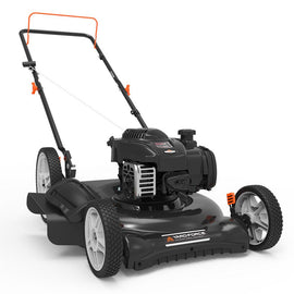 21 in. 140 cc 500e Series Briggs and Stratton Gas Walk Behind Push Mower with 2-in-1 Cutting System