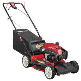 21 in. 159 cc Gas Walk Behind Self Propelled Lawn Mower with Check Don't Change Oil, 3-in-1 TriAction Cutting System
