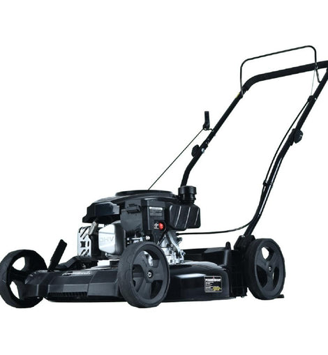 21 in. 170 cc Gas 2-in-1 Walk Behind Push Lawn Mower